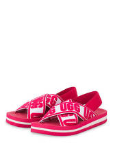 Ugg Sandalen Marmont Graphic rot